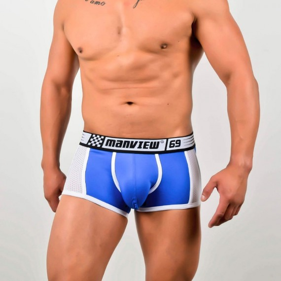Boxer transpirable azul m68-1